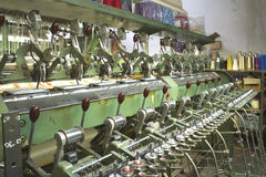 Weaving mill Royalty Free Stock Photos