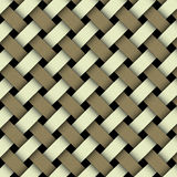 Weaving pattern. seamless Stock Photography