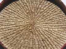 Weaving from plant fibers Stock Images