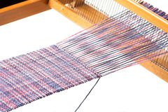 Weaving project Royalty Free Stock Images