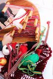 Weaving ribbon Stock Photography