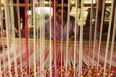 Weaving Thailand Stock Photo