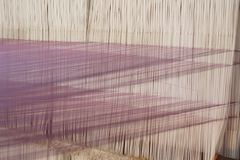 Weaving thread for the textile industry Stock Photography