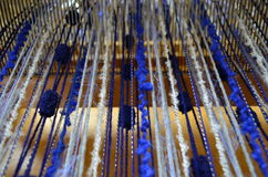 Weaving wool Royalty Free Stock Photography
