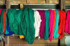 Weaving yarn Stock Photos