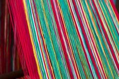 Weaving yarn Royalty Free Stock Photography