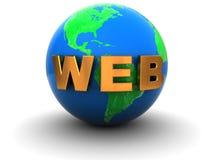 Web Royalty Free Stock Photography
