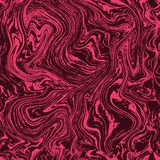 Vector marble seamless pattern. Marble pink pattern on dark background. It is a seamless pink marble pattern on dark pink background royalty free illustration