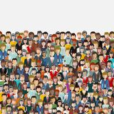 Large group of business people background. Business people, teamwork concept. Working people. stock images