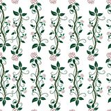 Roses. Flowers. Flower background. Seamless pattern. Repeated. Vector illustration. royalty free illustration