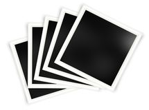 Set of photo frame templates vector illustration
