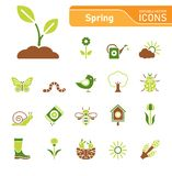 Spring Icon Set vector illustration