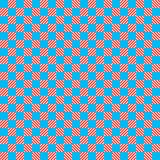 Blue and red texture chess pattern royalty free illustration