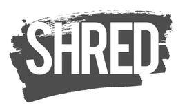 Shred Wipe vector illustration