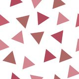 Vector geometric shapes seamless repeat pattern vector illustration
