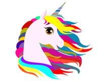 Web Unicorn on a background stock illustration