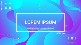 Trendy and modern background color. Cool banner design template abstract background. royalty free illustration