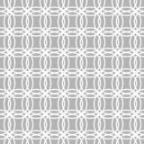 Seamless geometric background of intersecting circles white on grey background. Seamless pattern of intersecting circles,geometric pattern ,white circles on royalty free illustration
