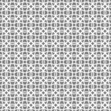 Seamless geometric background of intersecting circles white on grey background. Seamless pattern of intersecting circles,geometric pattern ,white circles on stock illustration