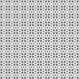 Seamless geometric background of intersecting circles white on grey background. Seamless pattern of intersecting circles,geometric pattern ,white circles on vector illustration