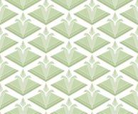 Geometric Diamond Vector Seamless Pattern. Abstract Art Deco Background. Classic Stylish Texture. royalty free illustration