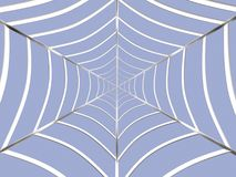 Web. Abstract spider web Royalty Free Stock Image