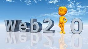 Web 2 0 Illustration Stock