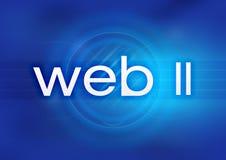 Web 2.0 ilustração do vetor