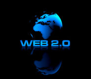 Web 2.0 royalty free illustration