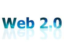 Web 2.0 royalty free illustration