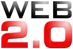 Web 2.0 Fotografia Stock Libera da Diritti