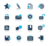 Web 2.0 // Azure Series Royalty Free Stock Images