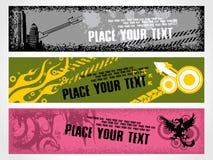 Web 2.0 banners Stock Image