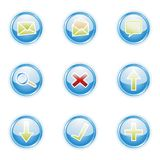 Web 2.0 icons, set Royalty Free Stock Images