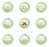 Web 2.0 icons, set Royalty Free Stock Photos