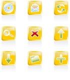 Web 2.0 icons, set Stock Images