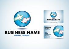 Web 2.0 logo vector. Web 2.0 logo eps vector whit businesscard Royalty Free Stock Image