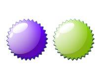 Web 2.0 pares del sello del certificado Fotografía de archivo