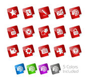 Web 2.0 // Stickers Stock Image