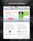 Web 2.0 template. A web 2.0 template Stock Photos