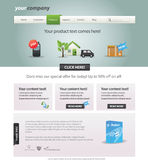 Web 2.0 template. Editable web 2.0 template Stock Images