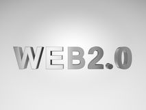 Web 2.0 text Stock Photo