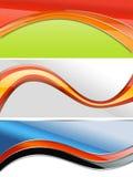 Web 2 banners royalty-vrije illustratie