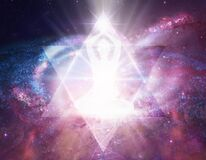 Spiritual energy healing power, connection, conscience awakening, meditation, expansion
