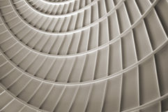 Web. Spiral patterned ceiling Stock Photography