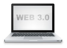 Web 3.0 Royalty Free Stock Photo