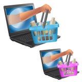 Web Imagem de Stock