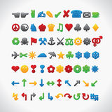 Web 70 icons Stock Images