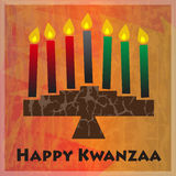 Kwanzaa Greetings Stock Photography