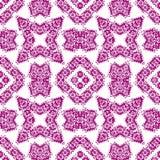 Abstract seamless purple ornament pattern. vector illustration